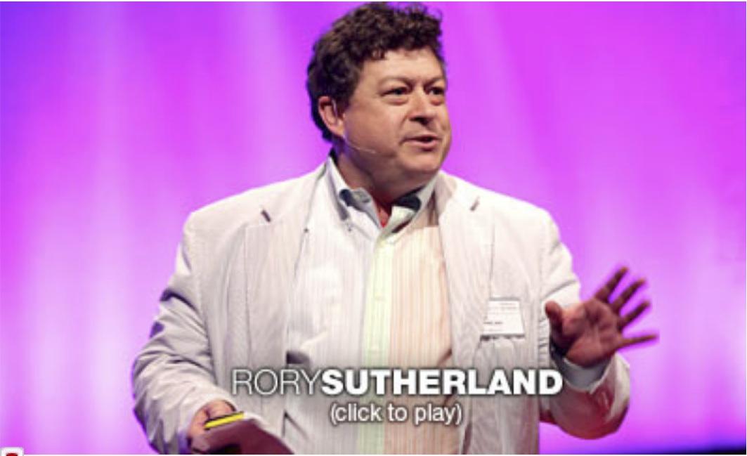 (Español) Deja que las cosas pequeñas jueguen su papel – Rory Sutherland